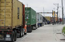 100 East Coast Truck New York Port Will Use Appointments To Battle Congestion WSJ