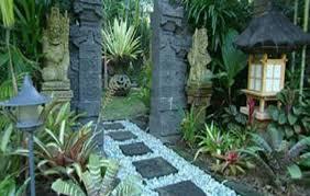Rustic Garden Ideas Balinese Design