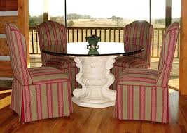 Skirted Parsons Chair Slipcovers by About Chair Parsons Dining Table