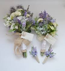 Wildflower Bouquet Package Bridal Bridesmaid