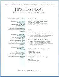Word Free Resume Templates Cv Template Curriculum Vitae Download