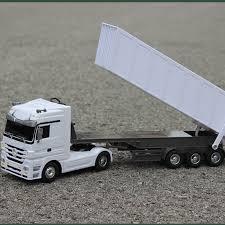 Super Large Mercedes Benz Transport Truck 2 4G Remote Control Dump ...