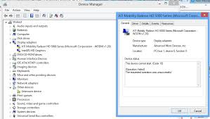 my hp dm4 1090ee graphic driver problems with win 8 micros