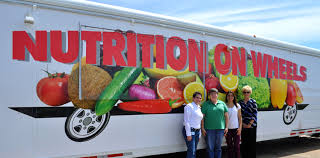 Nutrition On Wheels Truck Ready To Roll Through Central LA | Blue ...