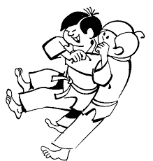 Vital Point Strike Karate Coloring Pages