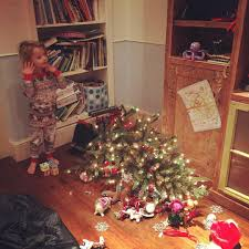 The Grinch Xmas Tree by These Celeb Kids Celebrating Christmas Will Melt Your Jolly Heart