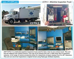 100 Sewer Truck CCTV Inspection Closed Circuit Television CCTV Inspection
