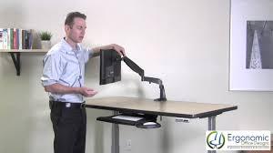 monitor arms ergonomicofficedesigns com youtube