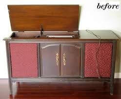 mid century cabinet console stereos with record player steve