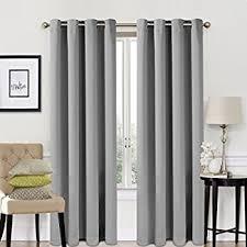 Eclipse Blackout Curtains Amazon by Amazon Com Blackout Room Darkening Curtains Window Panel Drapes