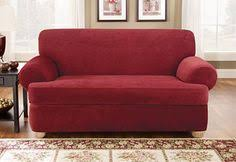 Sure Fit Slipcovers Stretch Jacquard Damask Separate Seat T Cushion