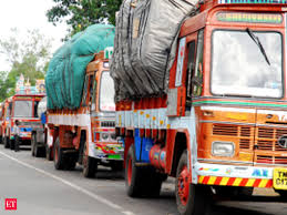 100 Pace Trucking Eway Bill GST Truck Movement Picks Up Pace As Border Check Post