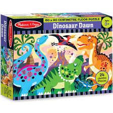 melissa doug dinosaur dawn floor puzzle toy at mighty ape