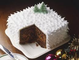 Christmas Cake Recipe Getty