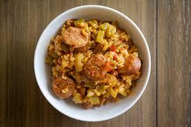 jambalaya crock pot recipe cooker chicken jambalaya my healthy dish