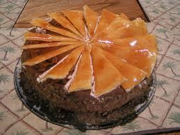 hungarian drom cake dobos torta desserts cake