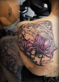 Lily Cover Up Tattoo