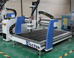 4 axis new arrival woodworking industry akg6090 cnc router machine