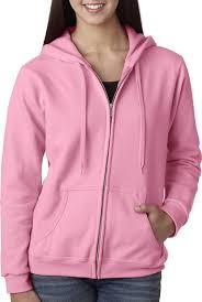 gildan women u0027s heavy blend full zip hooded sweatshirt at amazon