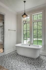 white and black mediterranean bathroom ideas mediterranean