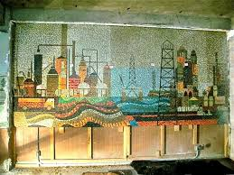Harlem Hospital Glass Mural by March 2013 Mosaic Art Now