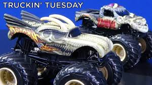 100 Hot Wheels Monster Truck Toys In Tuesday Jam Bone Busters Collection Of