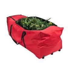 Xmas Tree Storage Box Basic Large Bag With Wheels Christmas Bin Walmart