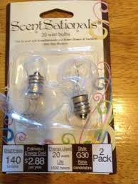 Aurora Candle Warmer Lamp Replacement Bulb by Scentsationals 25w Light Bulbs 2pk Walmart Com