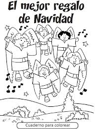 Spanish Christmas Coloring Pages