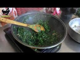 cuisine antou fricassée bredes mourongue par thérèse antou