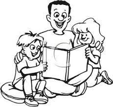 Single clipart single parent family Pencil and in color single