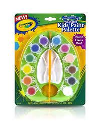 Crayola Kids Washable Paint Pallet