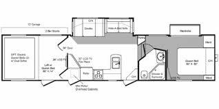 Raptor 5th Wheel Toy Hauler Floor Plans by 2010 Keystone Rv Raptor Fifth Wheel Series M 361 Lev Specs And