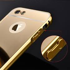 5S Mirror Aluminum Case for iPhone 5 5G 5S apple HOT Fashion Gold