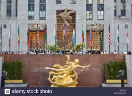 Christmas Tree Rockefeller Center Live Cam by Golden Prometheus Statue Rockefeller Center Stock Photos U0026 Golden