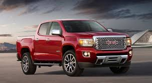 100 Truck Trim 2017 GMC Canyon Denali Midsize Pickup Gets Tony Truck Trim