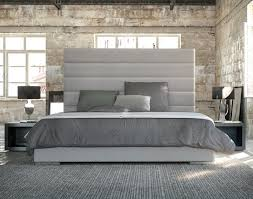 Bamboo Headboard Cal King by Contemporary Bed Frame With Tall White Upholstered Headboard With