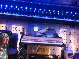 snap on box with led lights hutch