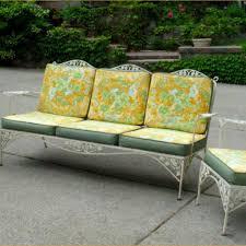 vintage metal patio furniture for sale
