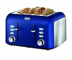 Breville Opula 4 Slice Matt Blue Toaster