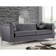 Tufted Velvet Sofa Bed by Furniture Best Quality Grey Velvet Sofa For Your Living Room