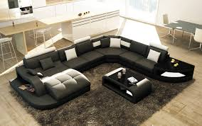 canape d angle noir et blanc deco in 8 canape d angle design panoramique noir et blanc