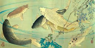 Famous Japanese Painting Of Fish