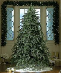 9 Fraser Fir Artificial Christmas Tree by 9 U0027 Downswept Hunter Fir Pre Lit Artificial Christmas Tree Clear