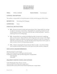Cashier Resume Sample Responsibilities 11 Awesome Design Job Description For Head Restaurant Supermarket Cage