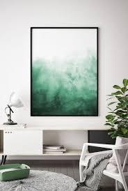 abstrakte aquarell wand kunst aquarell print aquarell grüne
