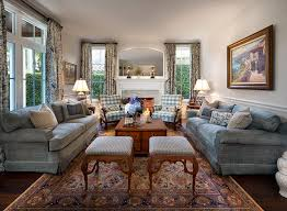 Private Residence In British Colonial Style Traditional Living Room