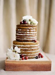 Rustic Wedding Cake No Frosting Cultural Inspiration By Jose Villa Photography