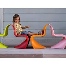 chaise panton junior vitra blanche idees fr