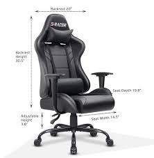 Homall Office Gaming Chair Carbon PU Leather Reclining Black Racing ... Invicta Office Chair Xenon White Shell Leather Lumisource Highback Executive With Removable Arm Covers Sit For Life Tags Star Ergonomic Family Room Amazoncom Btsky Stretch Cushion Desk Chairs Seating Ikea Costway Pu High Back Race Car Style Merax Ergonomic Office Chair Executive High Back Gaming Pu Steelcase Leap Reviews Wayfair Shop Ryman Management Grand By Relax The Ryt Siamese Cover Swivel Computer Armchair